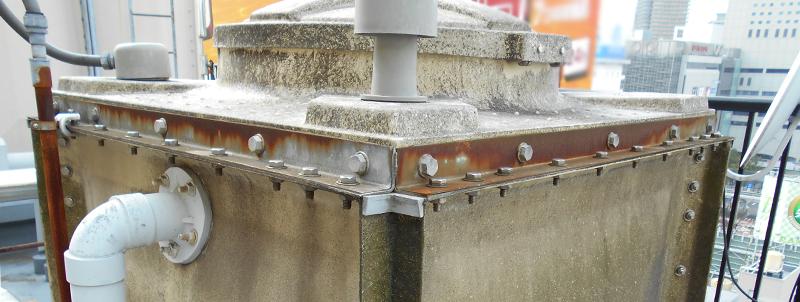 高架水槽劣化